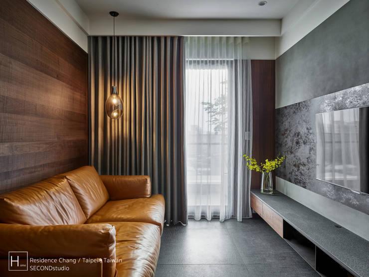 客廳 / Living room:  客廳 by SECONDstudio