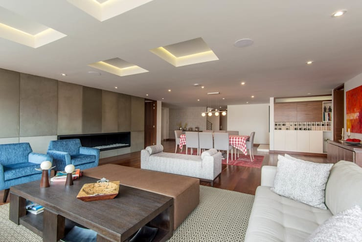 22-106: Salas de estilo minimalista por ARCE S.A.S
