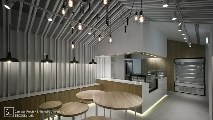 Campus Fresh:  餐廳 by SECONDstudio