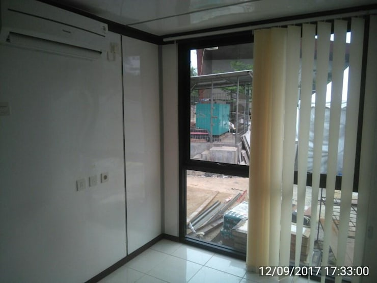 SITE OFFICE :  Ruang Kerja by NY project