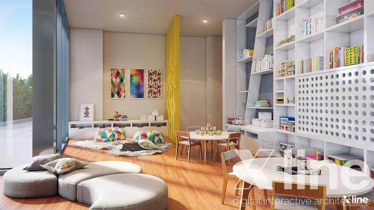 One88 By Bosa: Estudios y oficinas de estilo  por Xline 3D,Moderno