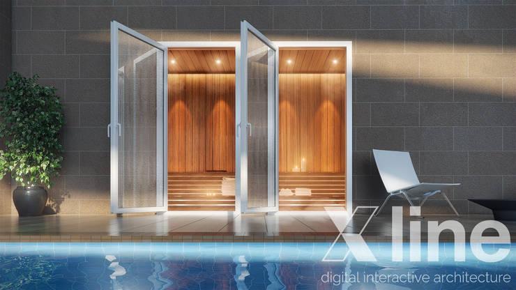 One88 By Bosa: Piletas de estilo  por Xline 3D,Moderno