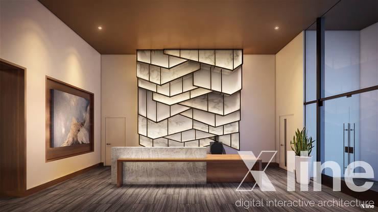 One88 By Bosa: Pasillos y recibidores de estilo  por Xline 3D,Moderno
