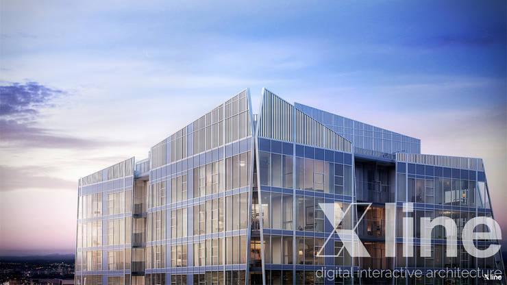 One88 By Bosa: Casas de estilo  por Xline 3D,Moderno