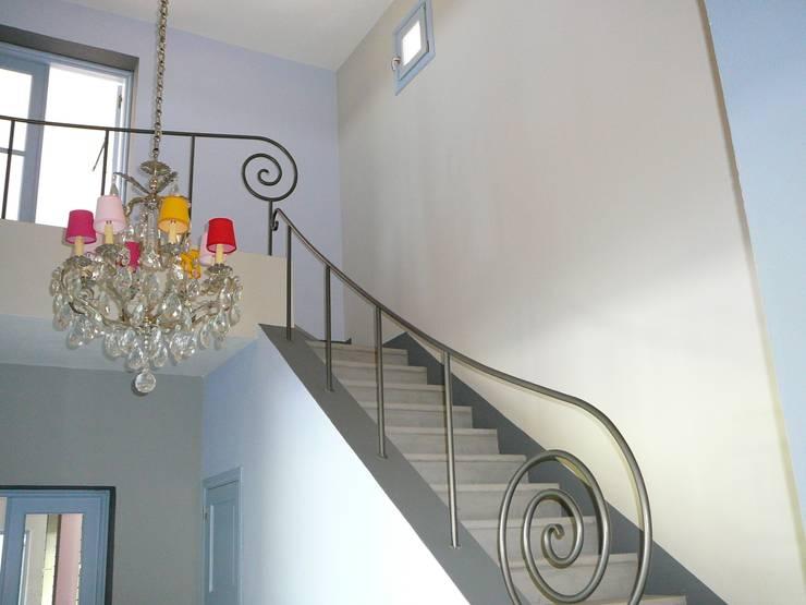 Barandas Para Escaleras Seguras Y Con Estilo - Barandillas-para-escaleras-interiores