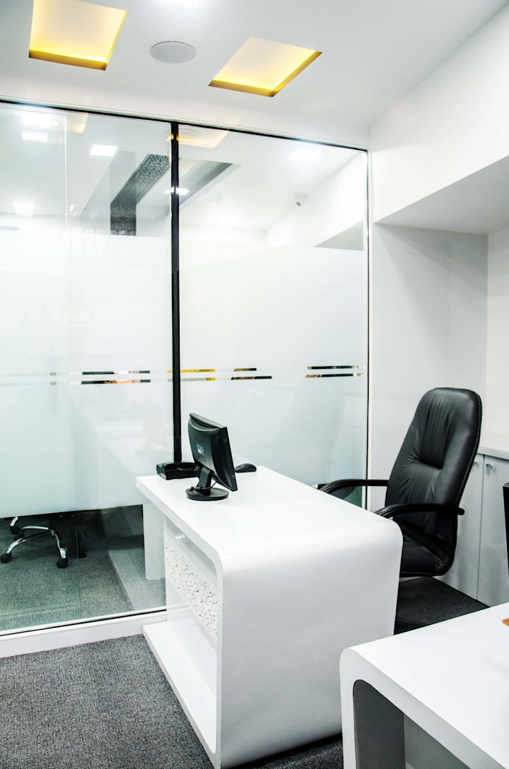 Chembur project:  Office buildings by aasha interiors,Modern