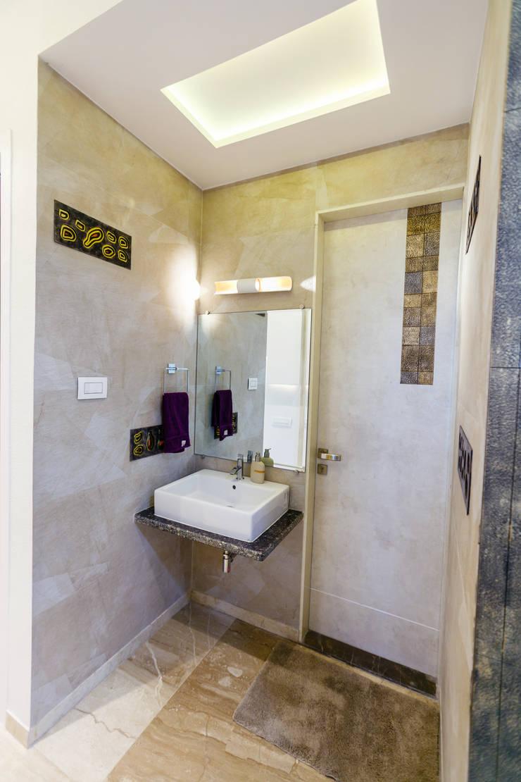 GB Road, Thane:  Bathroom by aasha interiors,Modern