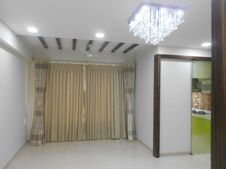 TulsiDham Thane: modern  by aasha interiors,Modern