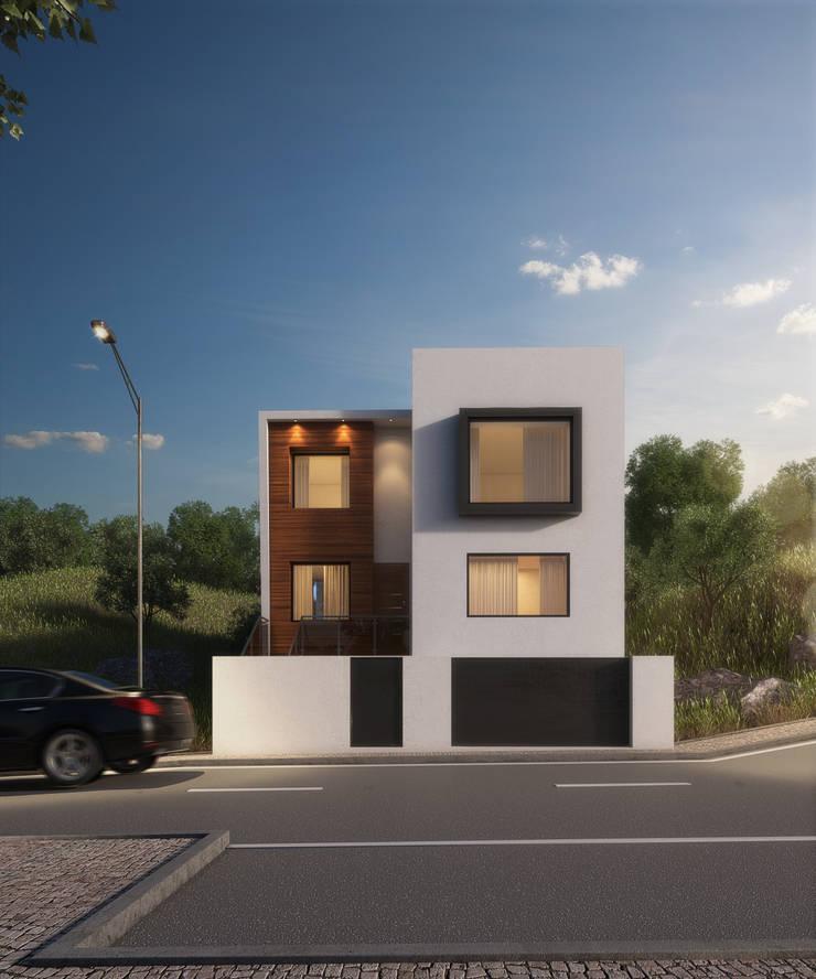 Casas modernas de Adelaide João Campos Lda Moderno