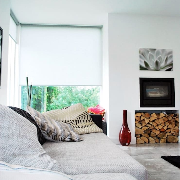 New family home, Newry, Co.Down:  Living room by Jim Morrison Architects