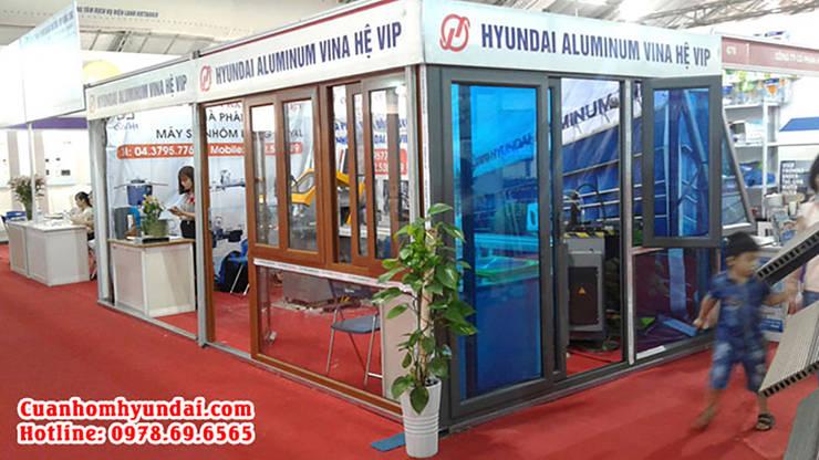 Nhôm Hyundai:  Doors by Cửa Nhôm Hyundai