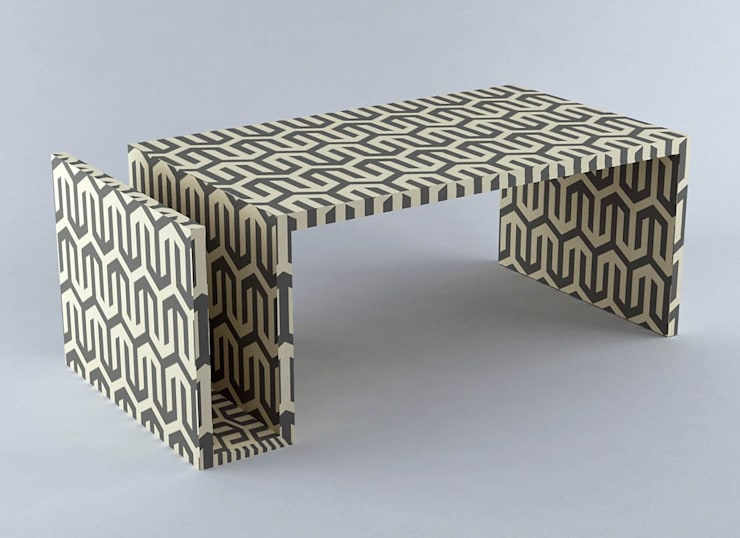 Naomi Coffee Table: modern  by Stature Retail Service,Modern Plywood