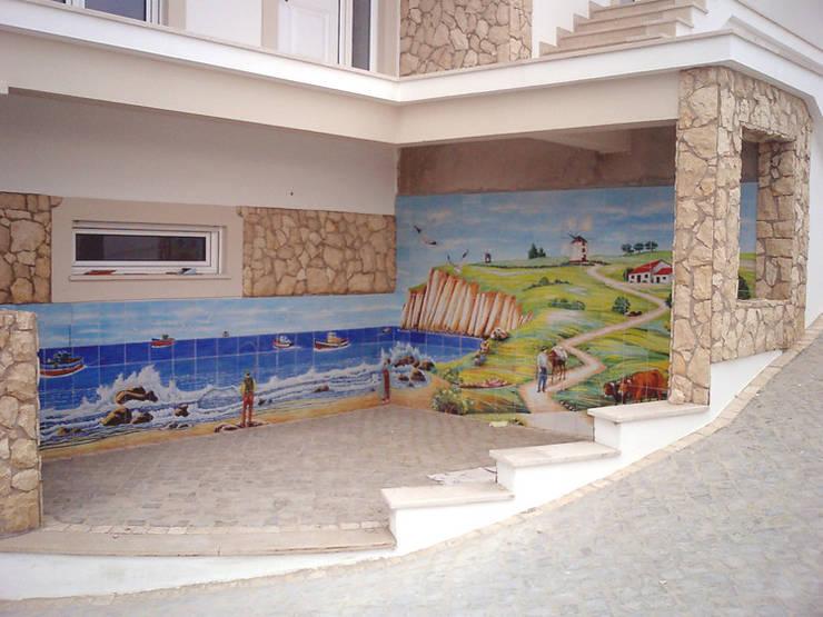 country  by Gestos Nativos - azulejos, Country