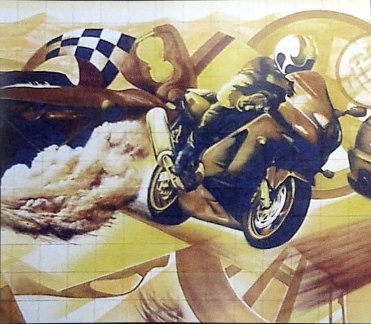 Artwork by Gestos Nativos - azulejos