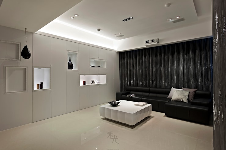Living room by 禾光室內裝修設計 ─ Her Guang Design
