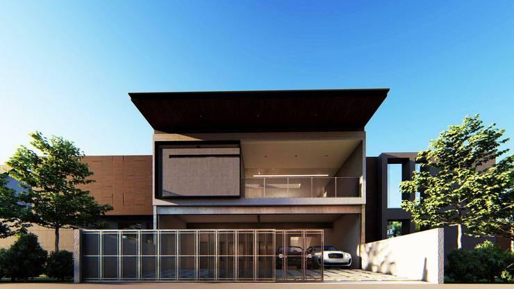 Pilotis House:   by Aeternite