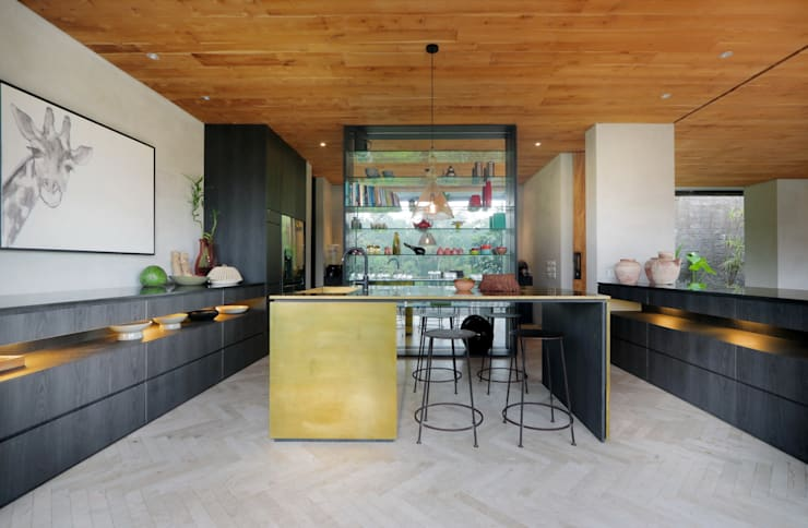 Cocinas de estilo  por Word of Mouth House, Tropical
