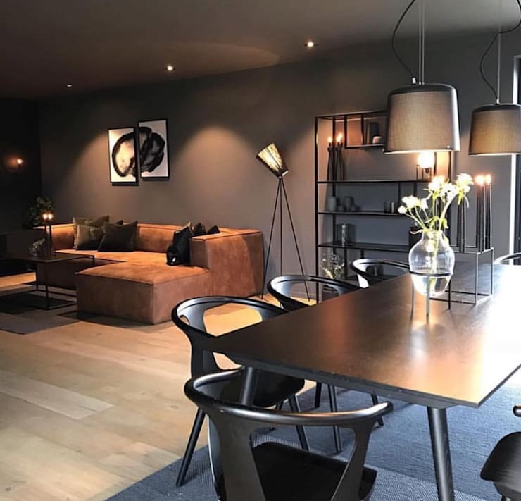 Sala de estar: Salas de estar  por AL Interiores