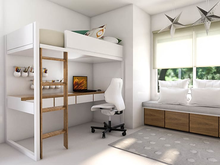 ห้องนอนเด็ก โดย Bhavana,