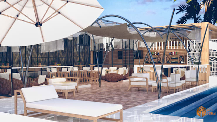 Beach Bar ( Concept ) :  Restoran by Tierbonavi