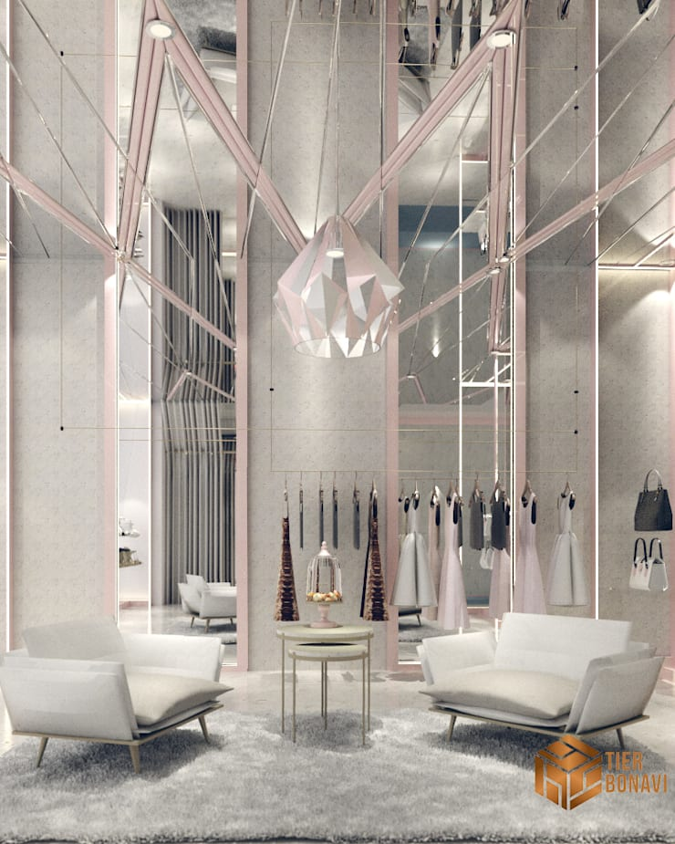 Boutique (Concept ):  Ruang Komersial by Tierbonavi
