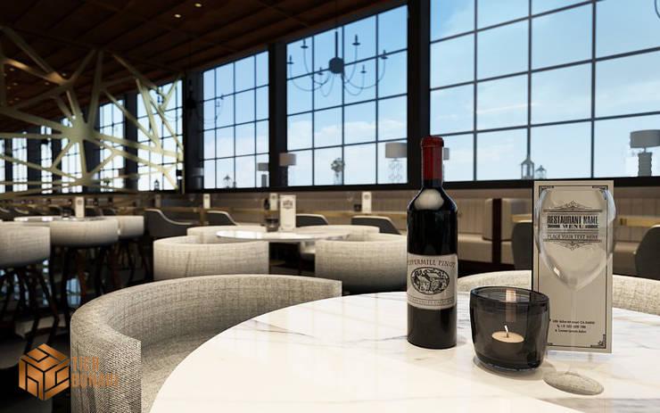 Cafe Rooftop ( Concept ) :  Restoran by Tierbonavi