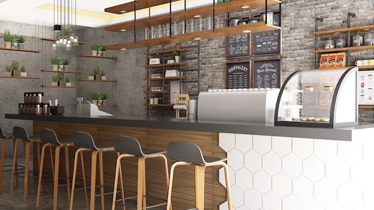 Coffee shop ( Concept) :  Restoran by Tierbonavi
