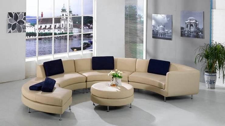 Bàn sofa tròn :  Dressing room by Thương hiệu Nội Thất Hoàn Mỹ