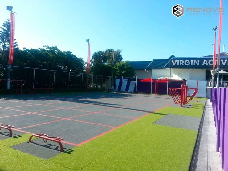 Virgin Active Sea Point:  Stadiums by Renov8 CONSTRUCTION