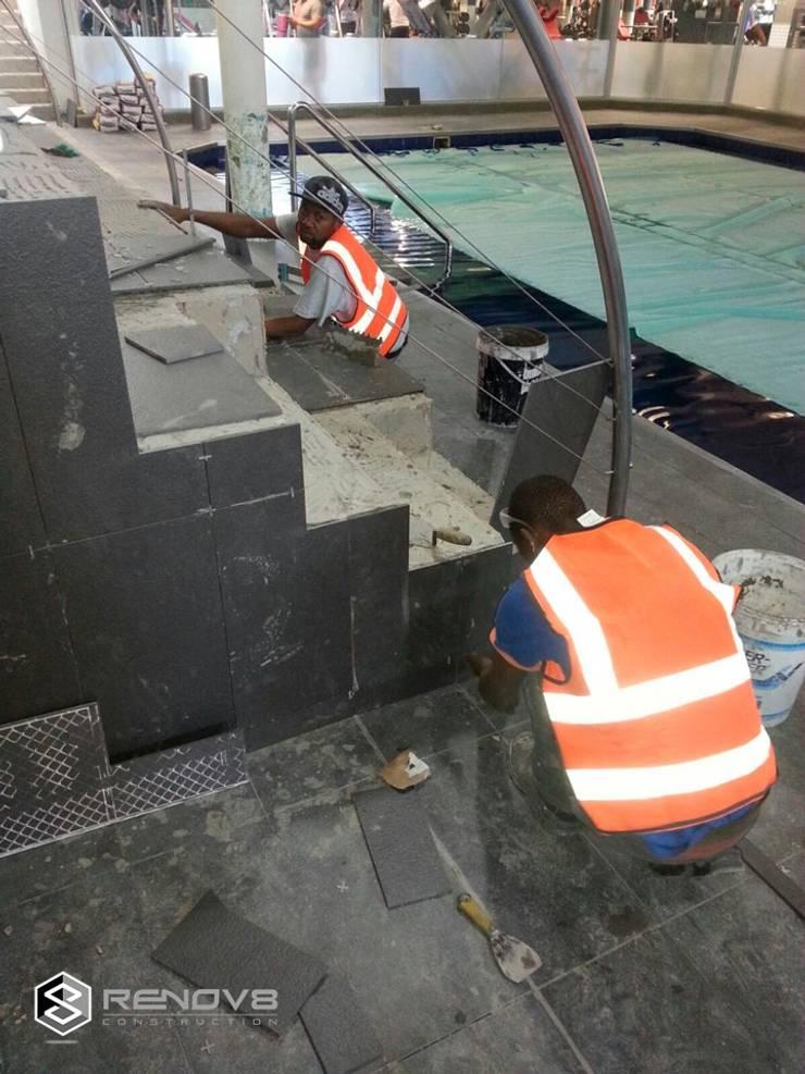 Virgin Active Constantia Swimming Pool:  Pool by Renov8 CONSTRUCTION