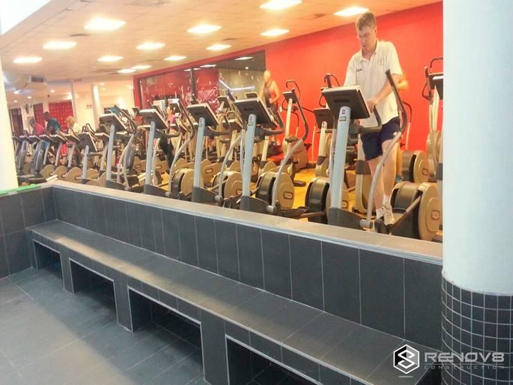Virgin Active Constantia Swimming Pool:  Gym by Renov8 CONSTRUCTION