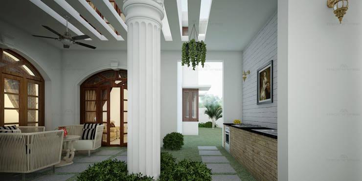 Interior Decorators in Kerala:  Corridor & hallway by Monnaie Interiors Pvt Ltd