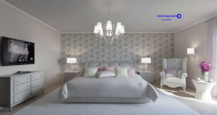 Bedroom in classic style:  Bedroom by 'Design studio S-8'