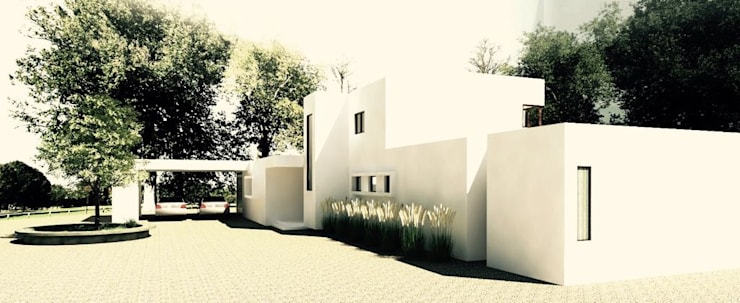 Fachada Principal : Casas de estilo  por EnVoga