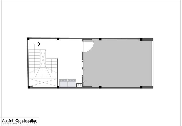 Mẫu nhà phố –  TÔ KIM QUỲNH:   by CÔNG TY THIẾT KẾ XÂY DỰNG AN LĨNH