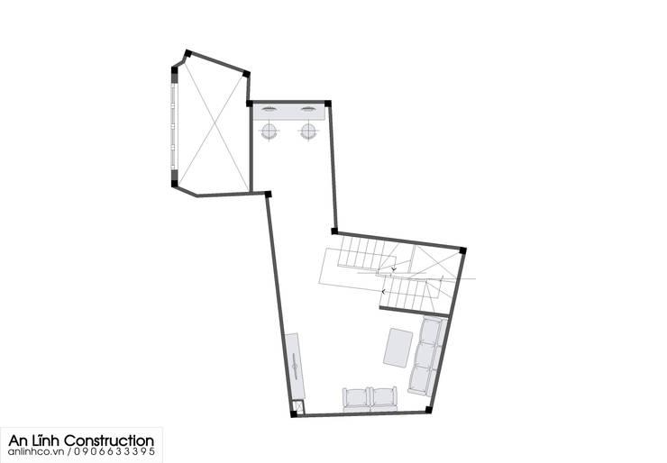 Mẫu nhà phố – NGUYỄN TRÍ SANG:   by CÔNG TY THIẾT KẾ XÂY DỰNG AN LĨNH