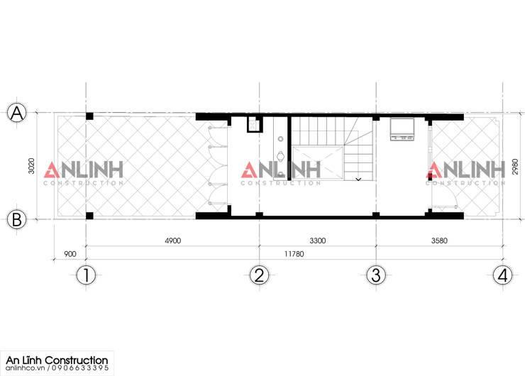 Mẫu nhà phố – NGUYỄN THỊ DIỆU:   by CÔNG TY THIẾT KẾ XÂY DỰNG AN LĨNH
