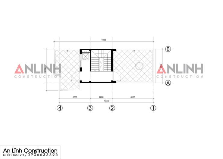 Mẫu nhà phố – ĐOÀN THỊ LOAN:   by CÔNG TY THIẾT KẾ XÂY DỰNG AN LĨNH