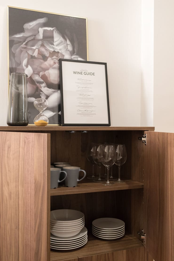 Unit dapur oleh Become a Home, Skandinavia