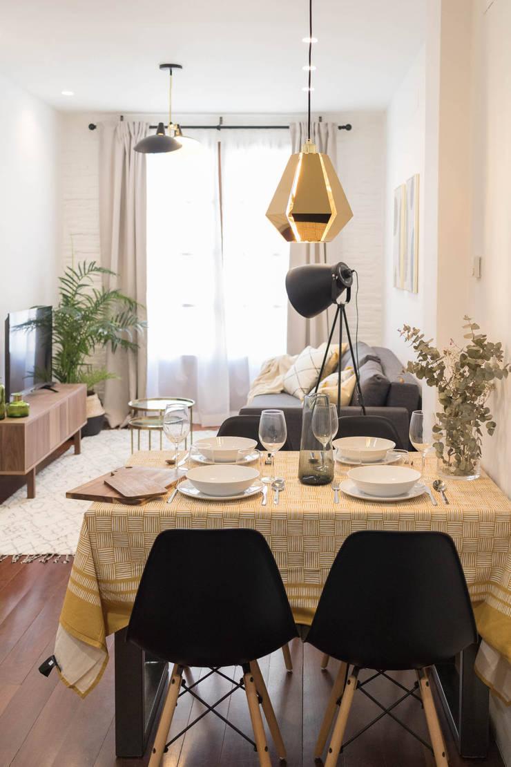 Ruang Makan oleh Become a Home, Skandinavia