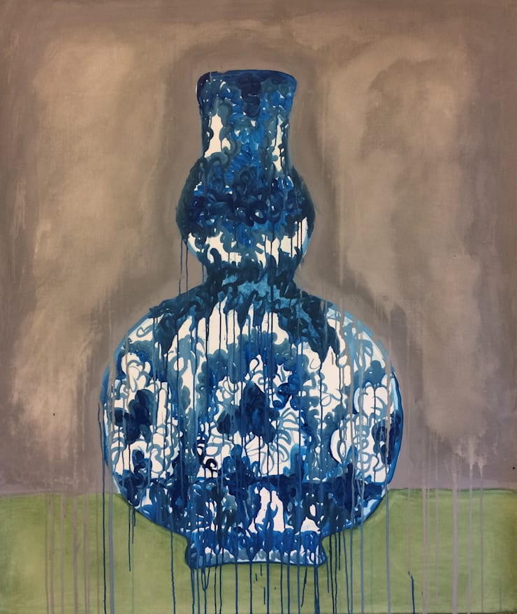 Ming vaas 2:  Kunst  door Sophie Walraven