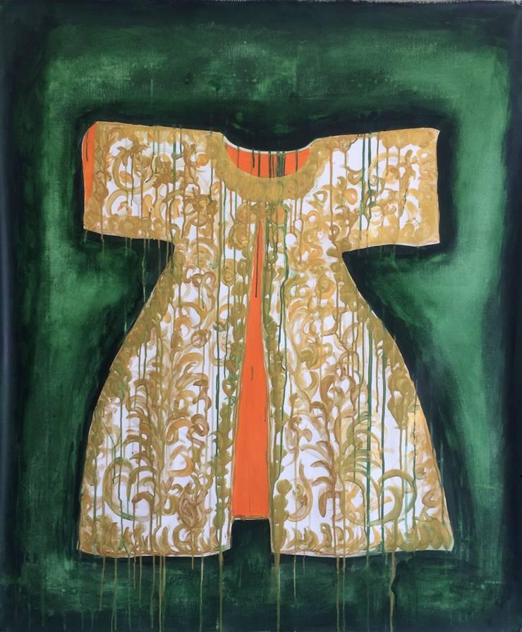 Kaftan:  Kunst  door Sophie Walraven