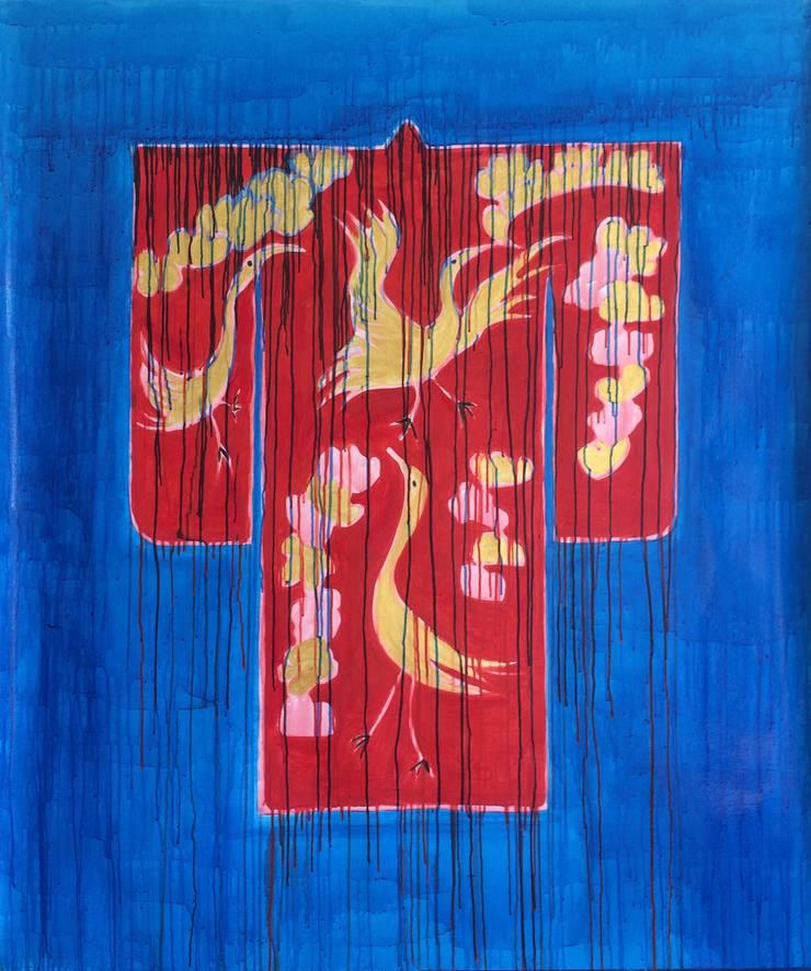 Kimono:  Kunst  door Sophie Walraven