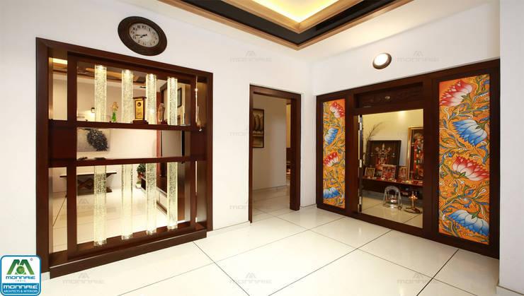 Ultra-Modern Designs:  Living room by Premdas Krishna