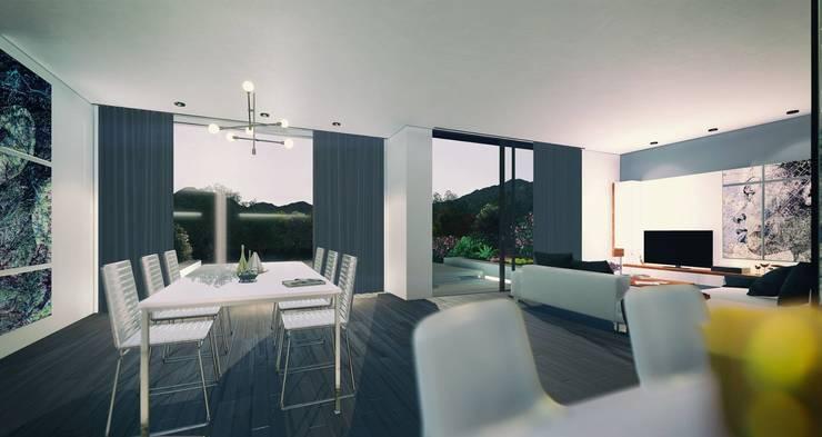 Villa Tangled:   by Archivite Architecture