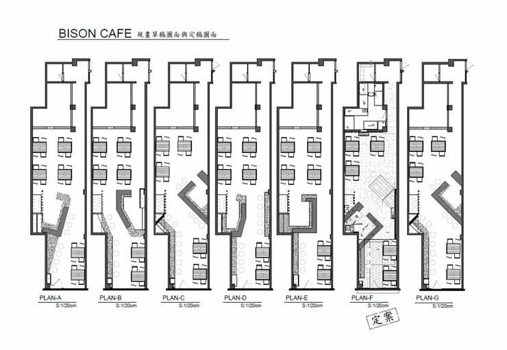 平面圖 多版本設計 供業主選擇討論:   by 艾莉森 空間設計