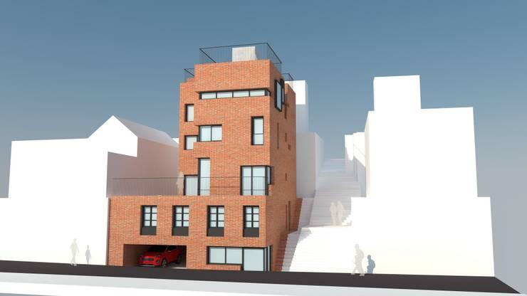 [흑석동 다가구주택 및 근린생활시설]: 더그라운드 건축 The ground Architects의