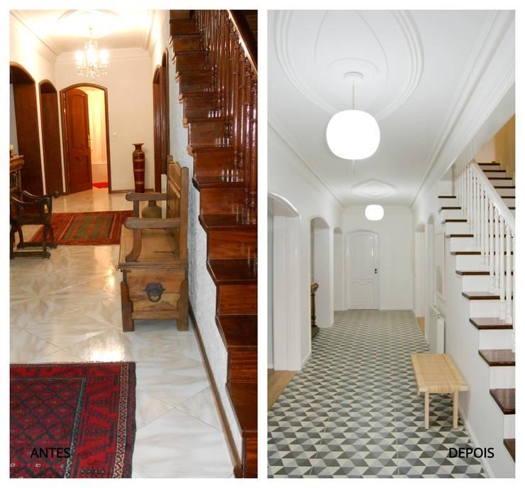 Fantástica remodelaç u00e3o de moradia em Paredes -> Curso De Decoração De Interiores No Porto