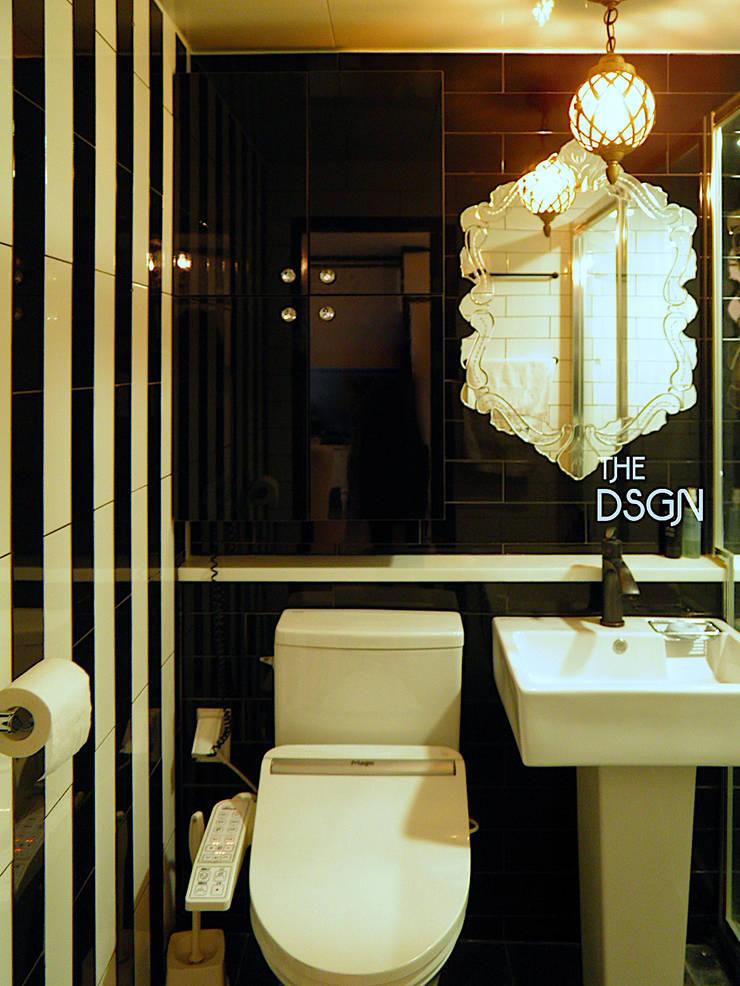 모던하면서도 우아한 욕실: 더디자인 the dsgn의  욕실,에클레틱 (Eclectic)