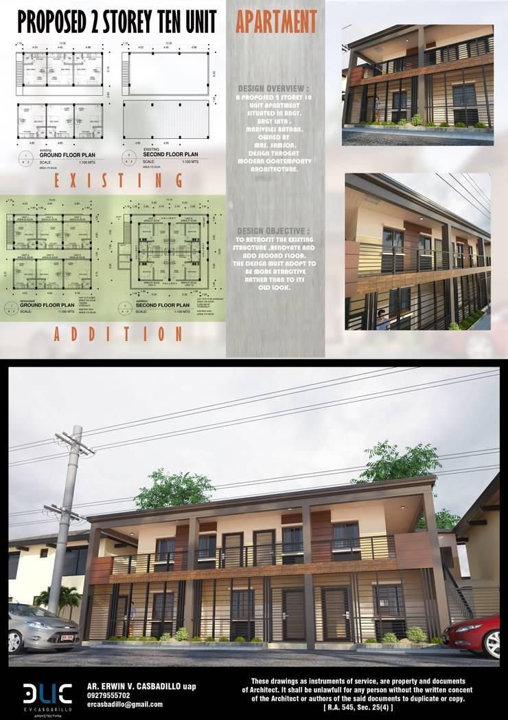 Multi-Family house by E.V.Casbadillo Arquitectura